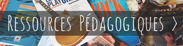 Les ressources pédagogiques autour de la guitare