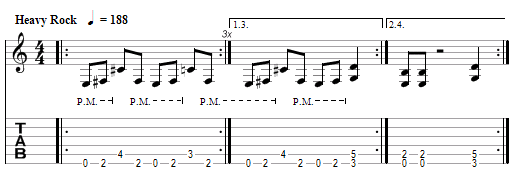 tablature Metallica : Through The Never