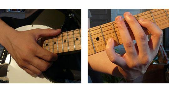 Le jeu en octave : position des mains