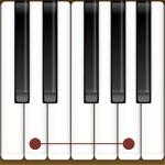 les intervalles sur un piano
