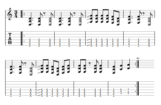 tablature Lateralis