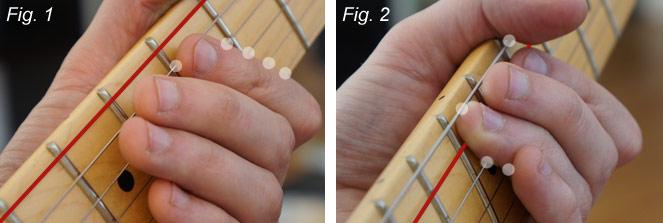 Muting - positions des doigts de la main gauche (part 1)