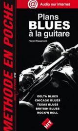 plans blues à la guitare - Florent Passamonti