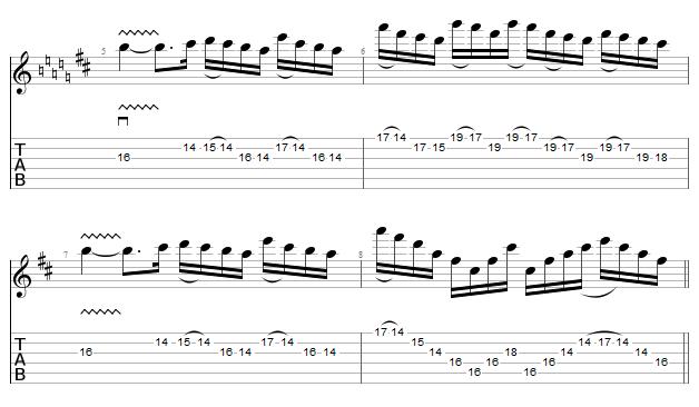 tablature sixpounder bridge - COB - part 2